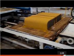 路沿石砖机生产视频