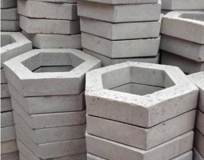 空心六边(角)形护坡砖机