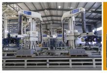 高端免烧砖机厂家提供码垛机器人作业系统