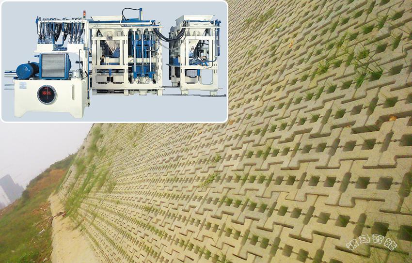 河湖治理生态砖砖机