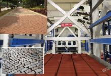 广场砖机设备制品用途分析