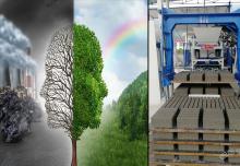 建筑垃圾制砖机:各类生态环保简述