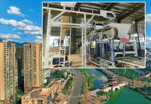 透水砖机设备之城市生态水系建设