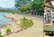 透水砖机设备建设城市风景生态线