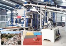 陕西建筑垃圾制砖机:生态环保绿色理念深入人心