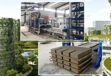 银马生态透水砖设备推动绿色创新未来