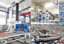 全自动建筑垃圾制砖机:陕西固废资源的绿色循环处理