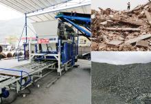 铁尾矿制砖设备:垃圾管理应合理推进