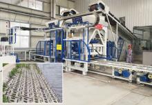 透水砖生产线:轴承滴油润滑和飞溅润滑适用哪些情况