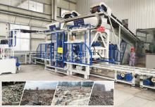 全自动制砖机器:固废再生必须成为环保的一部分!