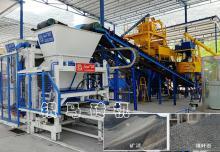 石粉石屑制砖设备:解决采石行业资源浪费及污染环境问题