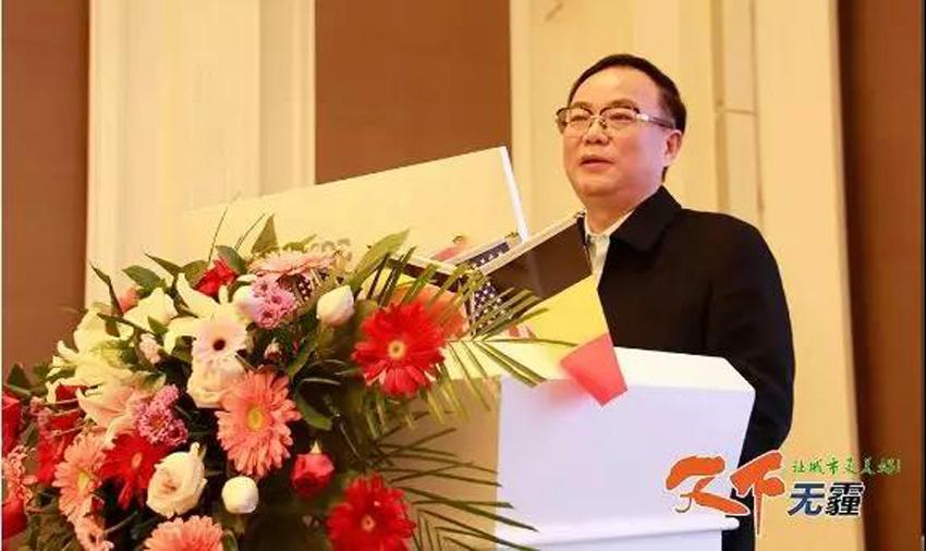 郑州鼎盛企业集团董事长卢洪波致辞