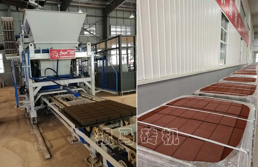 制砖机成套设备用科技与工艺把握15550亿元市场机遇!